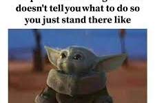 January Meme of the Month: Baby Yoda and the Mandalorian