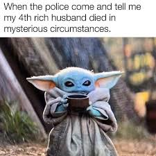 January Meme Of The Month Baby Yoda And The Mandalorian Voices